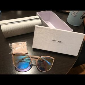 NWT Jimmy Choo sunglasses